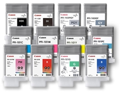 PFI-101GY ink for iPF-5000, grey, 0892B001AA