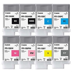 CANON Ink tank PFI-106 Yellow, 6624B001AA